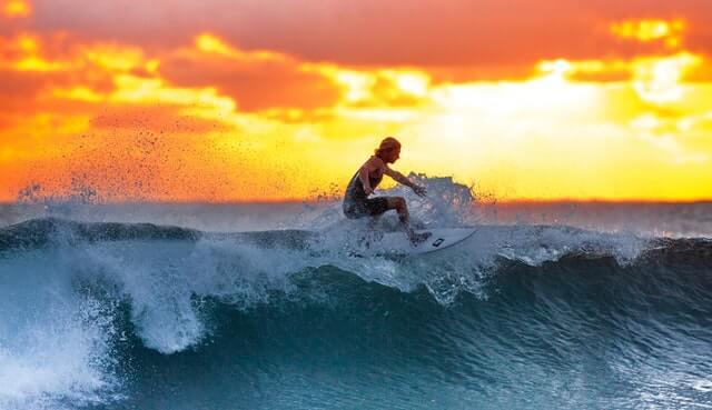 Spot de surf au Guatemala