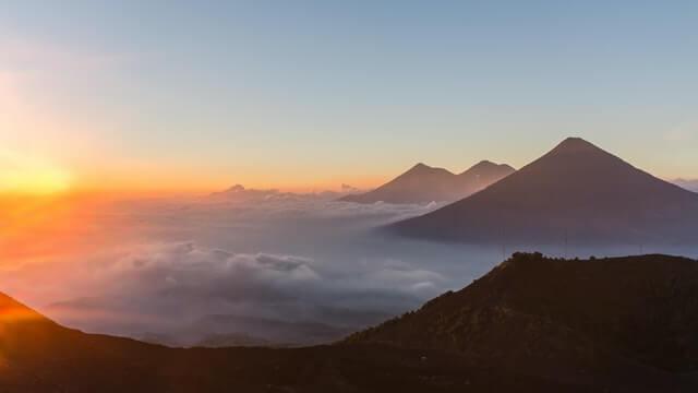 Volcans du Guatemala