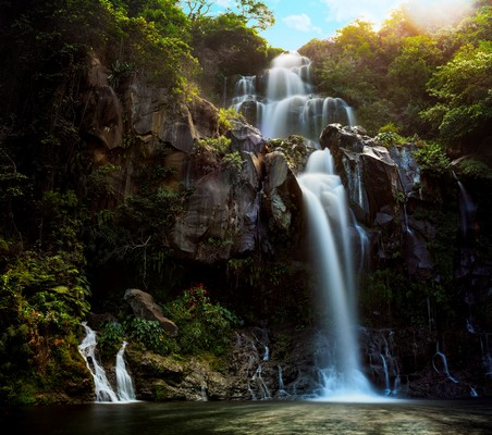Cascade à la Réunion