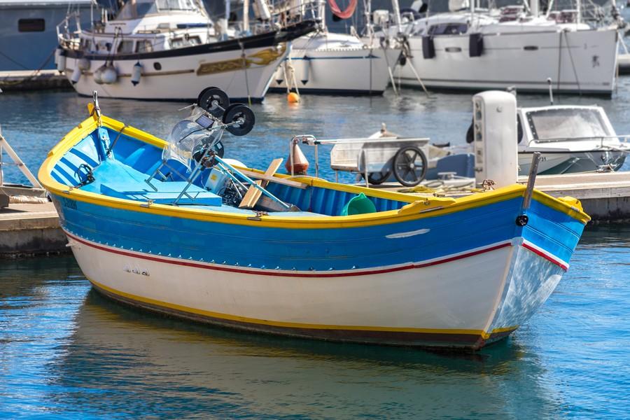 bateau gondole à Malte